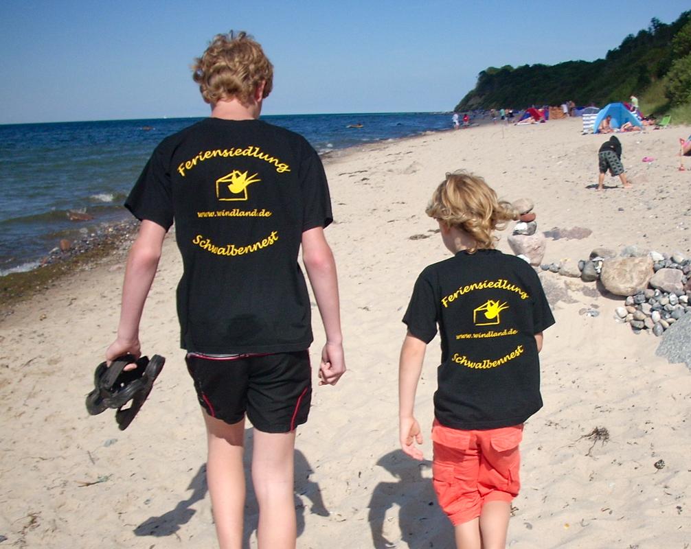 Strand Feriensiedlung Schwalbennest Bakenberg Ostsee