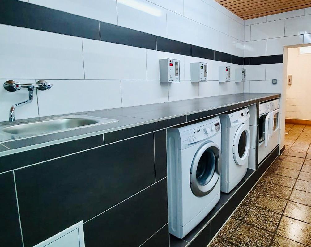 Waschmaschinen Ostsee Rügen Schwalbennest